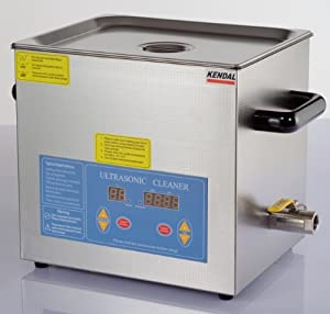 Kendal Commercial grade 660 watts 3.17 gallon heated ultrasonic cleaner H612