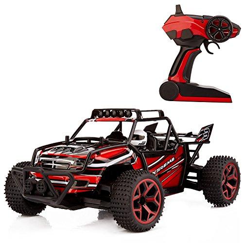 Metakoo-RC-Auto-Ferngesteurte-Auto-Hochgeschwindigkeit-im-Mastab-118-20-Minuten-Spielzeiten-4WD-Gelndewagen-24-GHz-RC-Buggy-Auto-Rot
