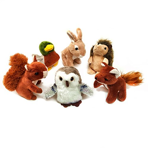 pack-of-6-mini-woodland-animal-soft-cuddly-toys-suitable-for-all-ages-0-