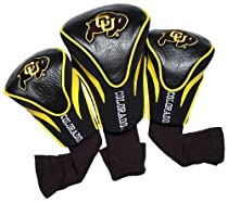 NCAA Colorado Golden Buffaloes 3 Pack Contour Golf Club Headcover