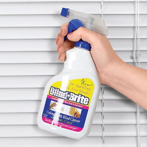 Blind Brite Cleaning Spray For Mini Blinds And Wood Blinds