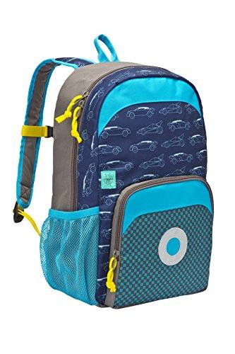 Lssig-Mini-Backpack-Big-Kinderrucksack-Kindergartentasche-Kindergarten-Kleinkind-Kind-Vorschule-mit-verstellbarem-Brustgurt-Namensschild-Utensilientasche-isolierte-Tasche-vorn-Cars-navy