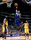 NBA Philadelphia 76ers Allen Iverson The Answer Dunking over Kobe and Shaq 8x10 Photo