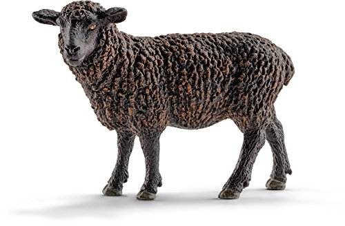 Schleich Black Sheep Toy Figure - 1