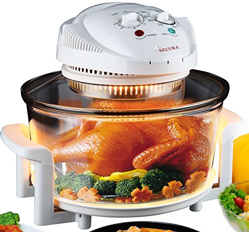 Countertop Convection Toaster Oven Recipes : Secura Turbo Oven Countertop Convection Cooking Toaster Oven 787MH
