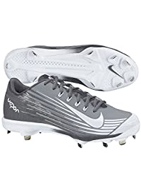 Nike Mens Lunar Vapor Pro Metal Cleats 10 US Stealth/Graphite/White (Stealth/Grey/White)