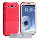 Samsung Galaxy S3 Silicone Gel Blade Case - Redby Yousave Accessories