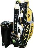 VIVA HEART ビバハートゴルフ キャディバッグ VHC015 ブラック/ゴールド 9.0型 47インチ対応
