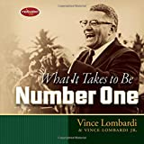 Lombardi Vince What it Takes to be Number One HB
