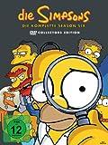 DVD Cover 'Die Simpsons - Die komplette Season 6 (Collector's Edition, 4 DVDs)