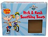 All Terrain Phineas and Ferb Natural Itch and Rash Soothing Soap, 4-Ounce