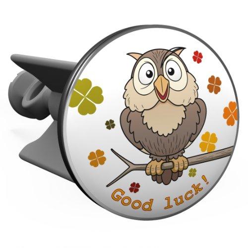 Plopp Owl/ Civetta, Good Luck, tappo salterello, tappo per lavandino, turacciolo