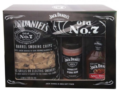 Grilling Accessory Jack Daniels BBQ Gift Pack