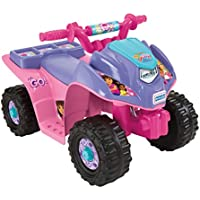 Fisher-Price Power Wheels Dora and Friends Lil Quad Ride-On (Pink and Purple)