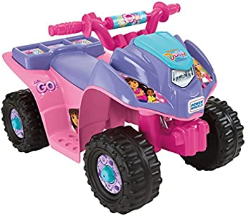 Fisher-Price Power Wheels Dora and Friends Ride-On