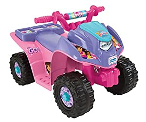Fisher Price Fisher Price Power Wheels Dora & Friends Lil Quad