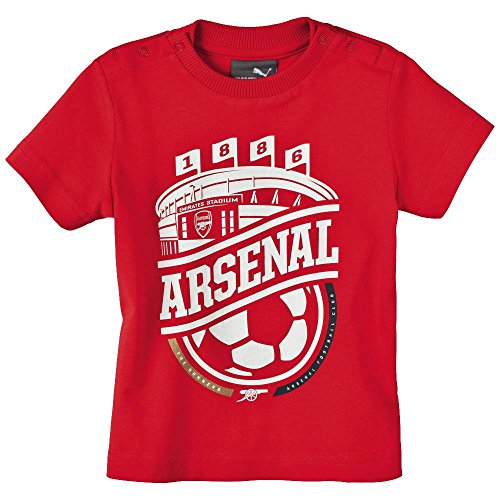 Puma Arsenal London Minicats Graphic T-Shirt rot Baby high risk red, 86