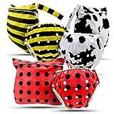 Baby Swim Pañales y bolsa por I Love Bub para adaptarse a 0-3yr Bumble Bee