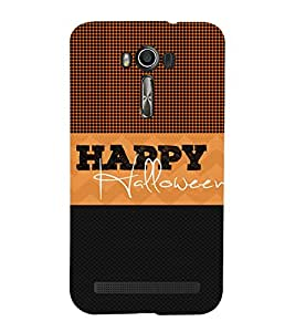 Happy Halloween Cute Fashion 3D Hard Polycarbonate Designer Back Case Cover for Asus Zenfone 2 Laser ZE550KL (5.5 INCHES)