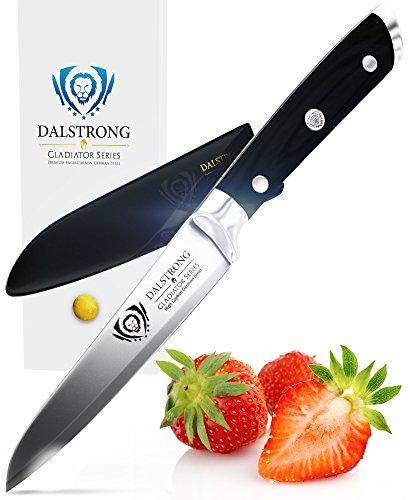 "DALSTRONG Paring Knife - Gladiator Series Paring Knife - German HC Steel - 3.75"""