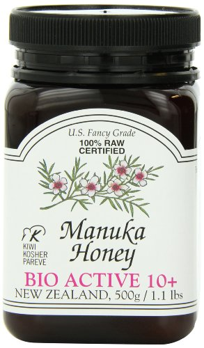 Manuka Honey Bio Active 10+, 1.1 Pound Jar (Package May Vary) (10 Percent Hydrogen Peroxide compare prices)