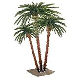 Sterling 3240-456c 4-Feet, 5-Feet and 6-Feet Pre-Lit Palm Tree Clear Lights