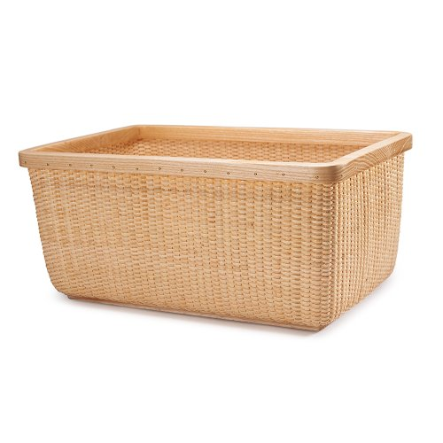 Wood Basket Weaving Supplies : Tengtian brand nantucket basket storage square
