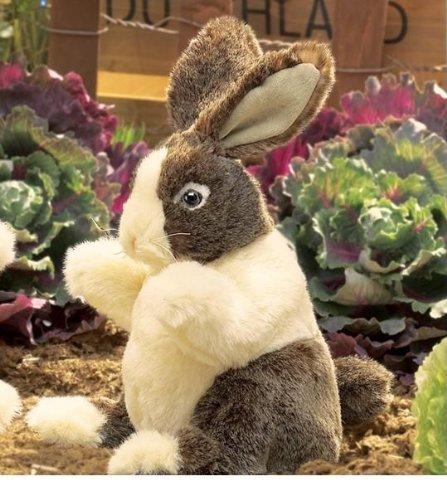 Baby Dutch Rabbit Puppet