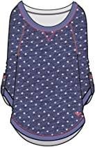 Roxy - Girls Lovely Dream Sweater, Size: 4T, Color: Indigo Pattern 1