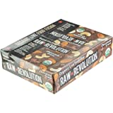 Raw Revolution, Organic Live Food Bar, Chocolate & Cashew, 12 Bars, 2.2 oz (62 g) Each