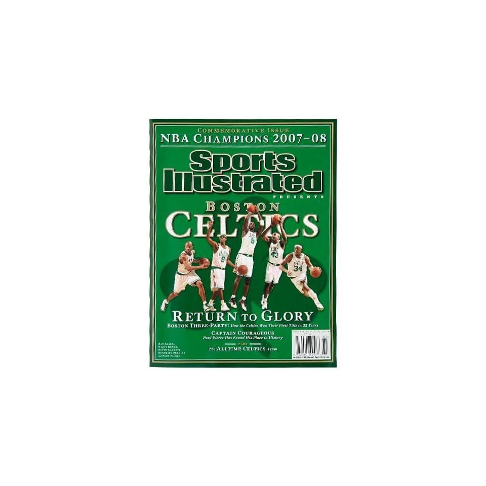 Boston Celtics 2007 2008 NBA Champions Sports Illustrated Commemorative Edition