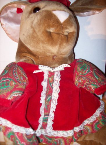 "13"" Holiday Velveteen Rabbit Plush - 1"