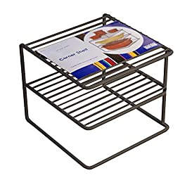 Organized Living Corner Shelf - Nickel