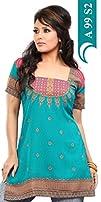 :T701L Indian Tunic Top Womens Kurti…