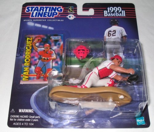 1999 Starting Lineup Ivan Rodriguez Limited Edition Collectors Piece