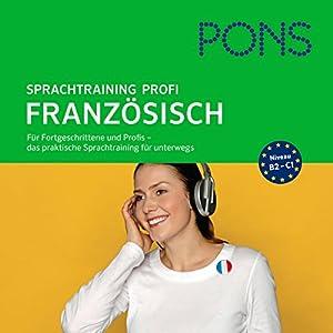 PONS mobil Französisch Sprachtraining Profi Hörbuch