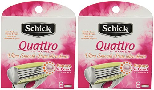 schick-quattro-for-women-razor-refill-ultra-smooth-8-cartridges-2-pack-by-schick