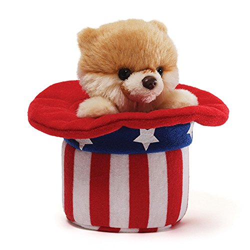 Gund Itty Bitty Red, White and Boo Plush - 1
