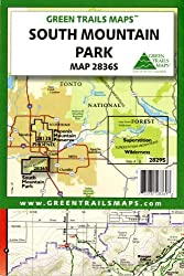 South Mountain Park (Green Trails Maps, Map 2836S)