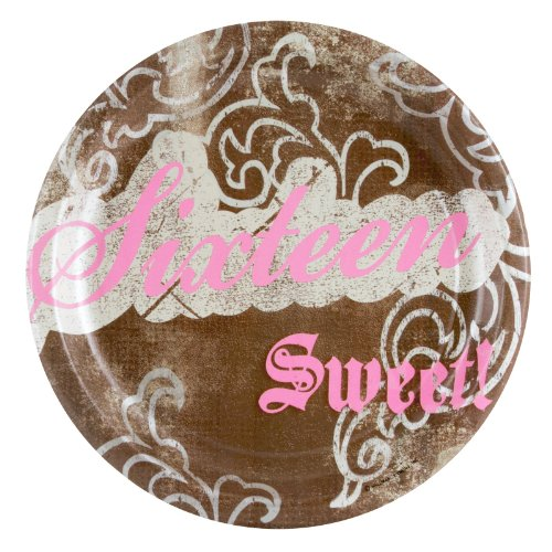 Sweet Birthday 9in Round Plates