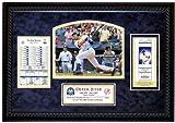 MLB New York Yankees Derek Jeter 3,000th Hit Replica Ticket Framed Collage