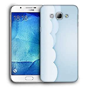 Snoogg Lite Color Clouds Printed Protective Phone Back Case Cover For Samsung Galaxy Note 5