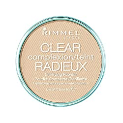 Rimmel London Clear Complexion Clarifying Powder, Transparent by Rimmel London (English Manual)