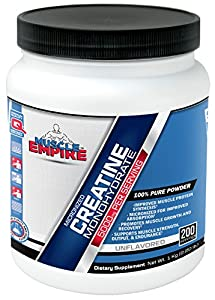 Creatine Monohydrate Micronized 200 Mesh Powder (1000 Grams) - Muscle Empire Supplements