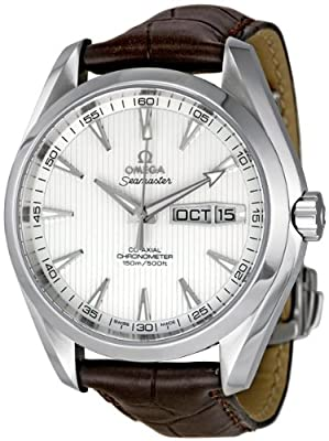 Omega Men's 231.13.43.22.02.001 Aqua Terra Silver Dial Watch by Omega