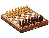 Wood Chess Set Sale – New Year Deals on Gifts – SouvNear Classic 7 X 7 Inch Magnetic Pocket Travel…