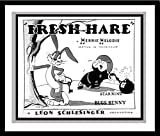 "Bugs Bunny and Elmer Fudd in ""Fresh Hare"" Studio Lobby Card Publicity Still - Warner Brothers"