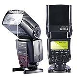 Neewer® MK600 E-TLL/E-TTL II *High Speed Sync* 1/8000s HSS LCD Display Speedlite Master/Slave Flash for Canon Digital SLR Cameras, such as EOS 5D Mark III , 5D Mark II, 1Ds Mark 6D, 5D, 7D, 60D, 50D, 40D, 30D, 300D, 100D, 350D, 400D, 450D, 500D, 550D, 60