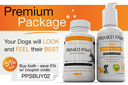 Premium dog skin and coat supplement omega 3 6 9 for Fish oil for dogs skin
