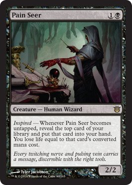 Magic: the Gathering - Pain Seer (80/165) - Born of the Gods by Magic: the Gathering